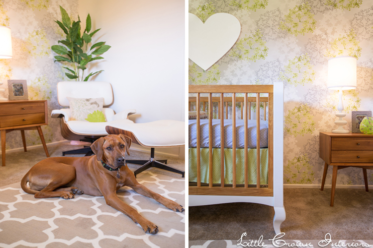 Modern Lime Green Nursery