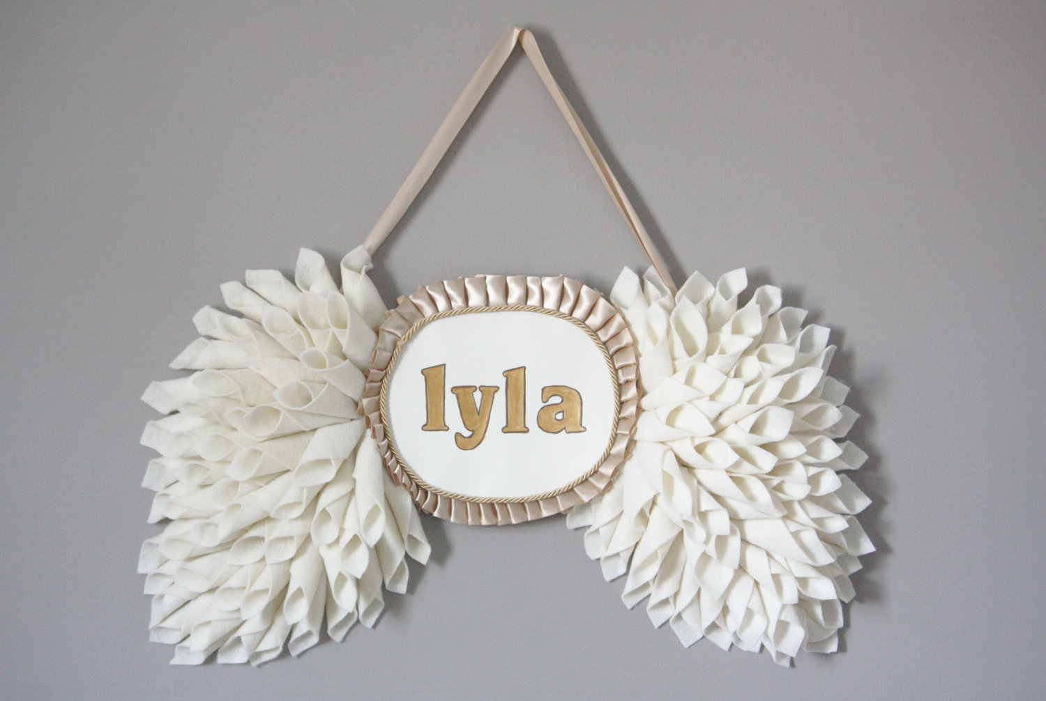 Personalized Wings from Etsy