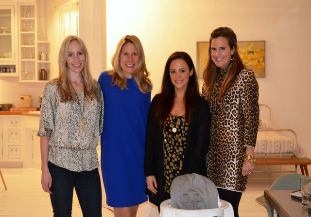 Monica Marino with the MomTrends Team