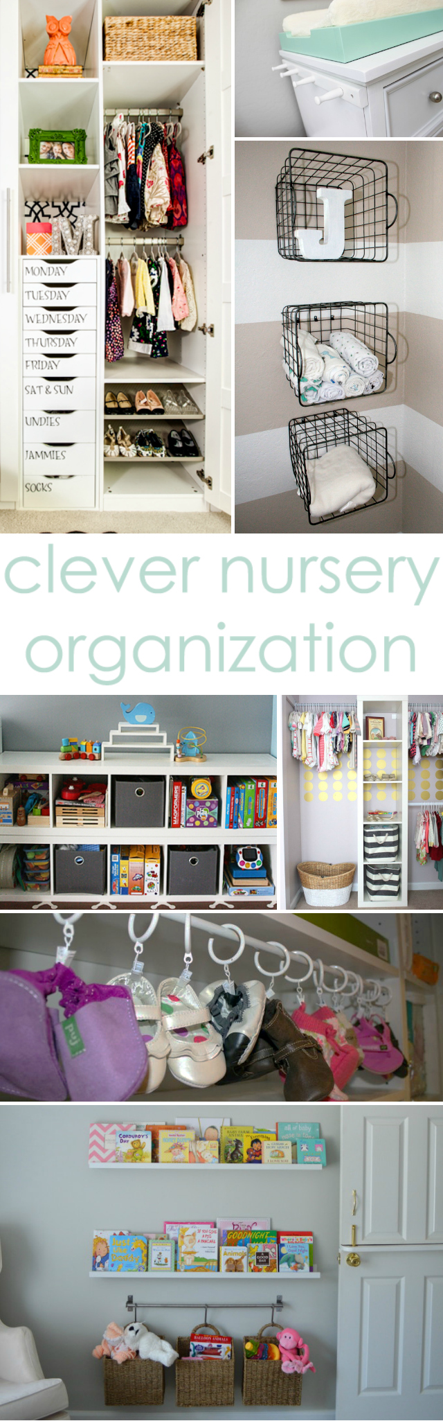 Clever Nursery Organization Ideas - Project Nursery