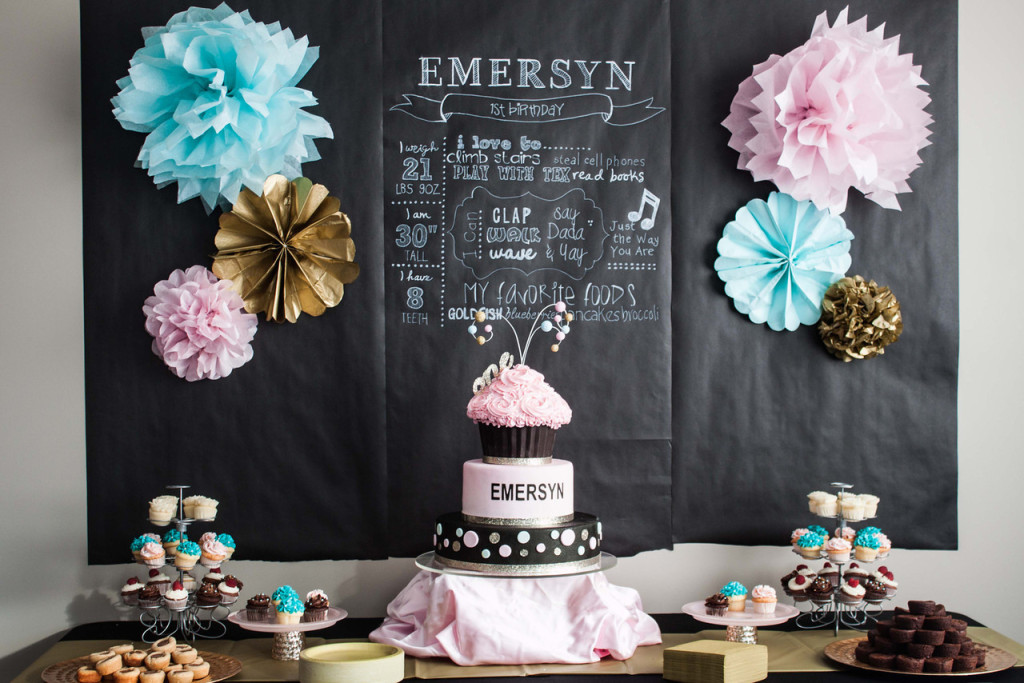 Chalkboard Wrapping Paper Backdrop