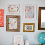 Vintage-Inspired Gallery Wall
