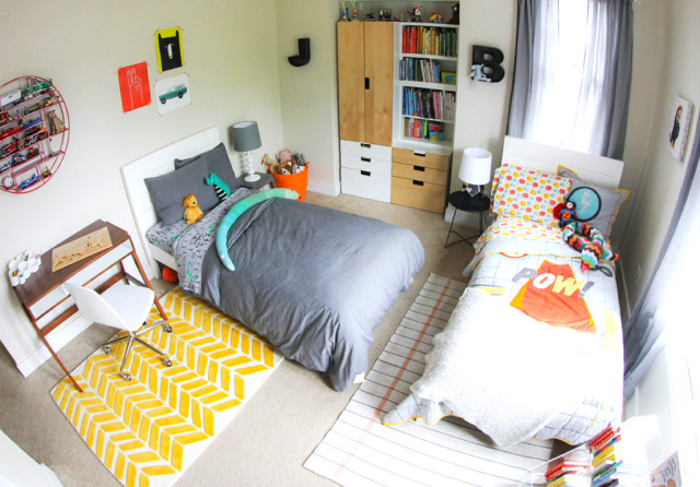 Shared Boys' Room, Land of Nod - Project Nursery