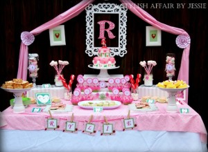 Strawberry Shortcake Sweets Table - Project Nursery
