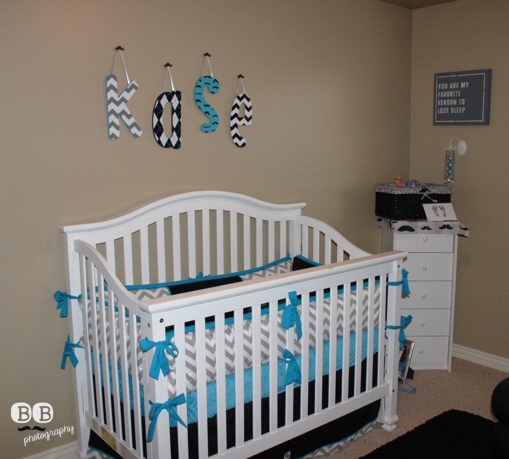 Dream Big Little Man A Mustache Themed Nursery Project