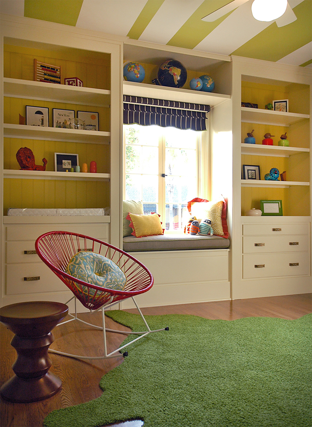 Custom built ins in children 39 s rooms project nursery for Bookcases for kids room