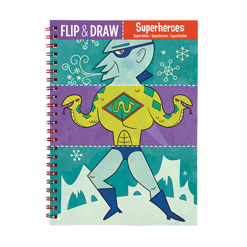 Superheroes Flip and Draw