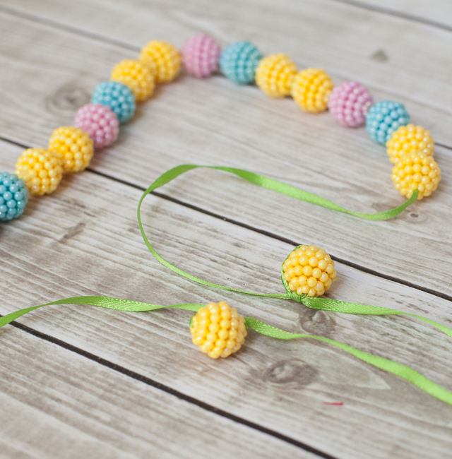 DIY Easter Necklace