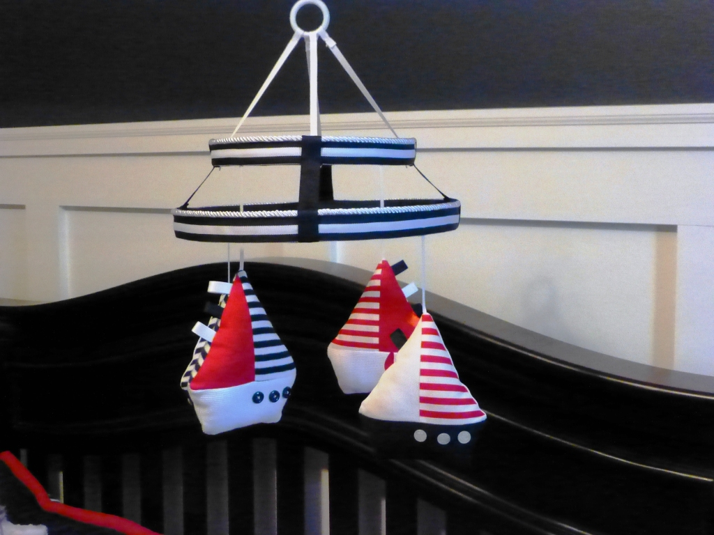 Sailboat Nursery Mobile