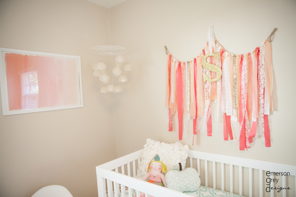 Sloane S Coral And Teal Nursery Project Nursery