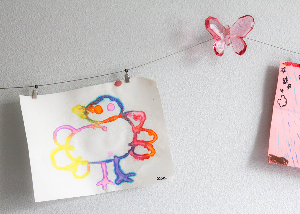 Children's Art Hanging Wire - Project Nursery