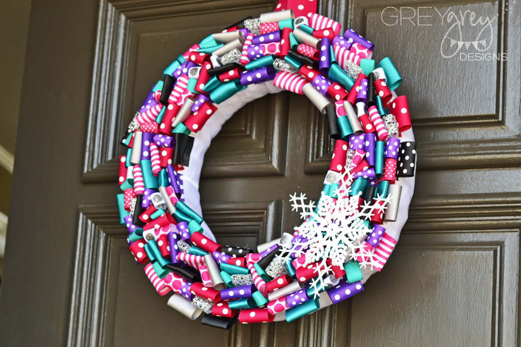 Disney Frozen Inspired Door Wreath