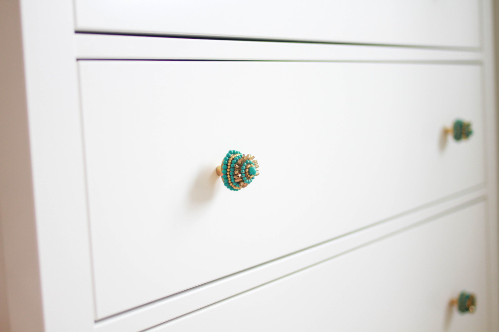 Anthropologie Knobs on HEMNES Dresser
