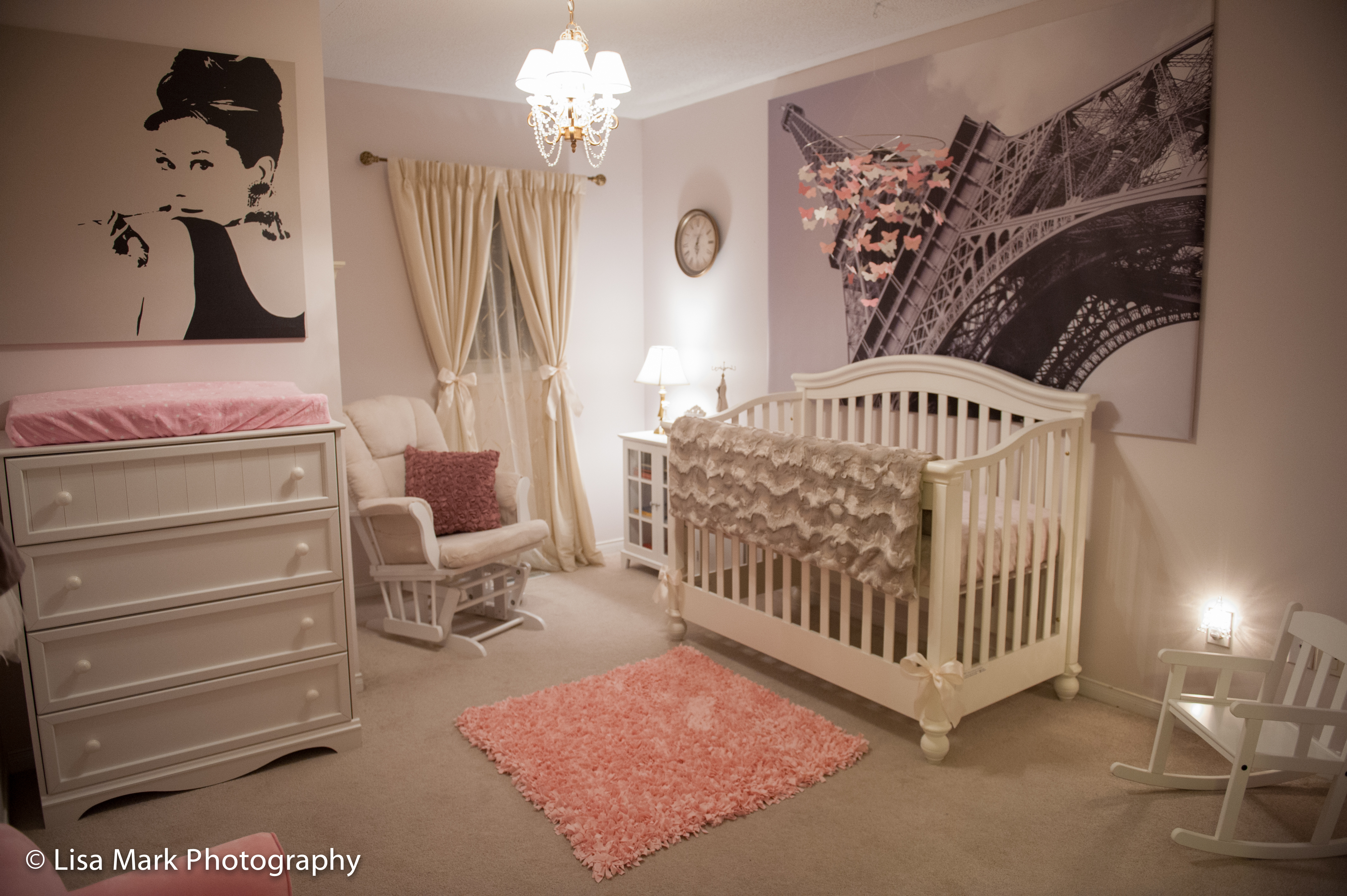 Paris Themed Bedroom Curtains Jillians Vintage Pink Gold Paris Themed Nursery Project Nursery