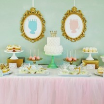 Royal Baby Shower Dessert Table