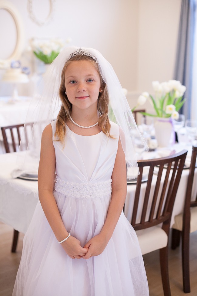 Lavender First Communion Party