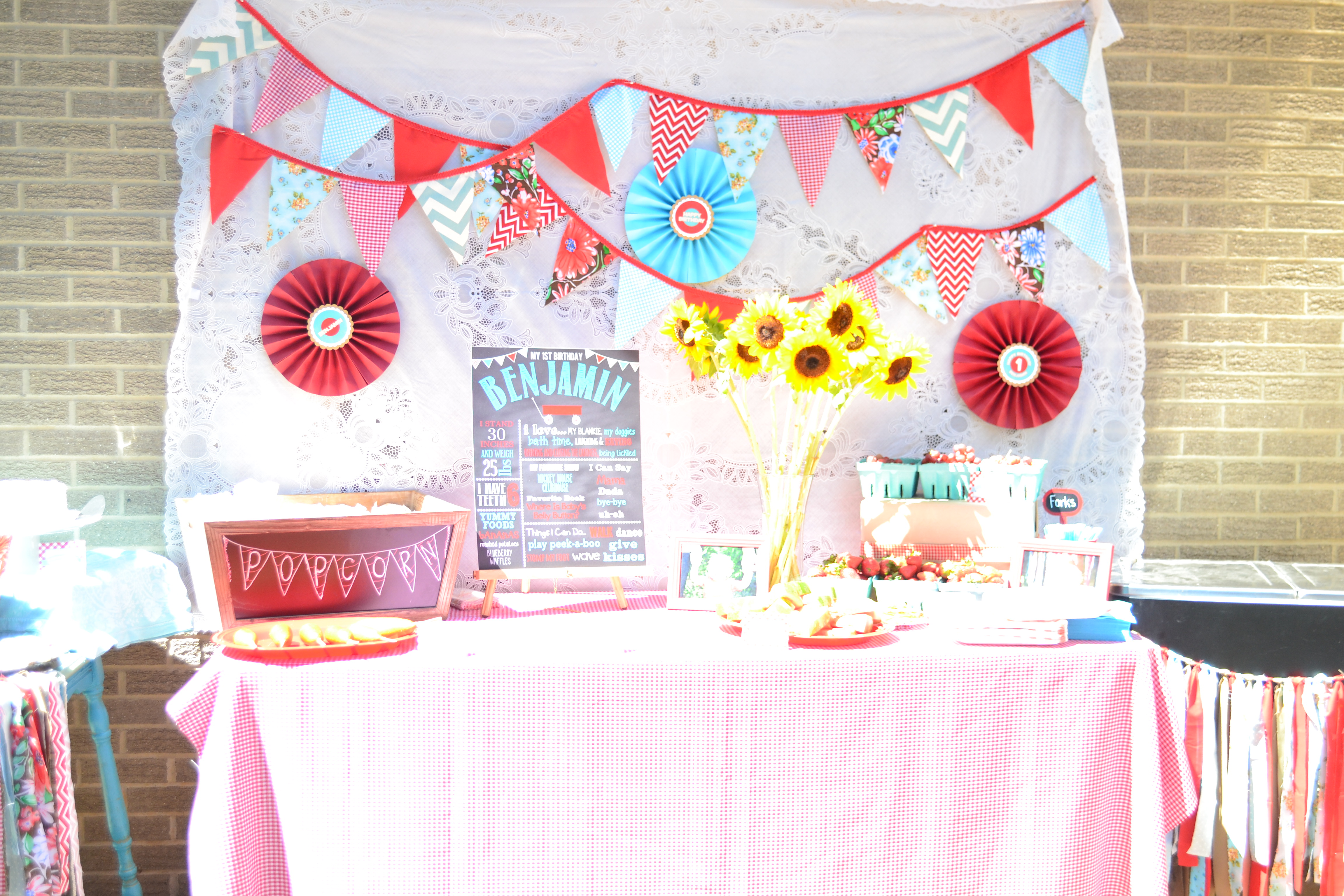 County Fair First Birthday Party Project Nursery