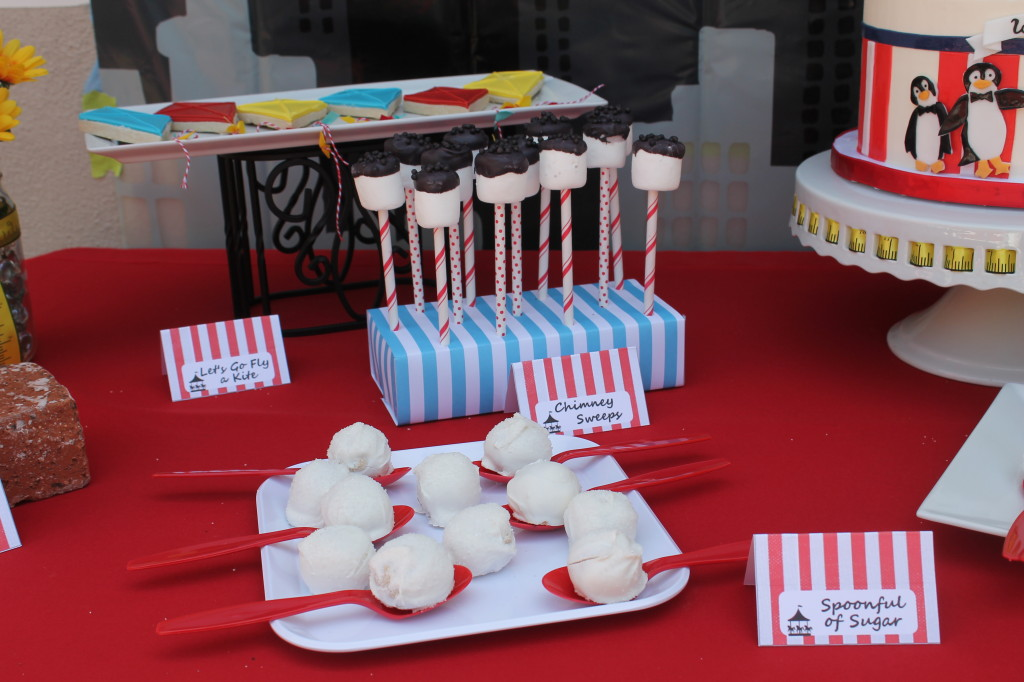 Mary Poppin Themed Desserts