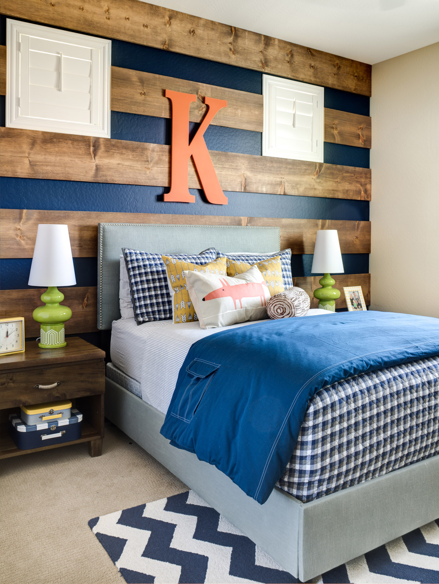outdoor inspired big boy room