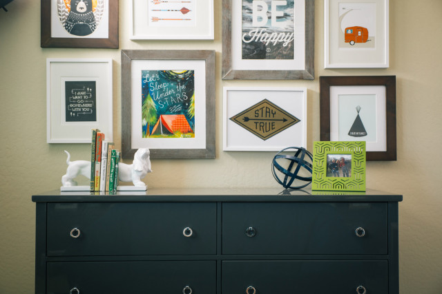 Boys Outdoor-Themed Gallery Wall