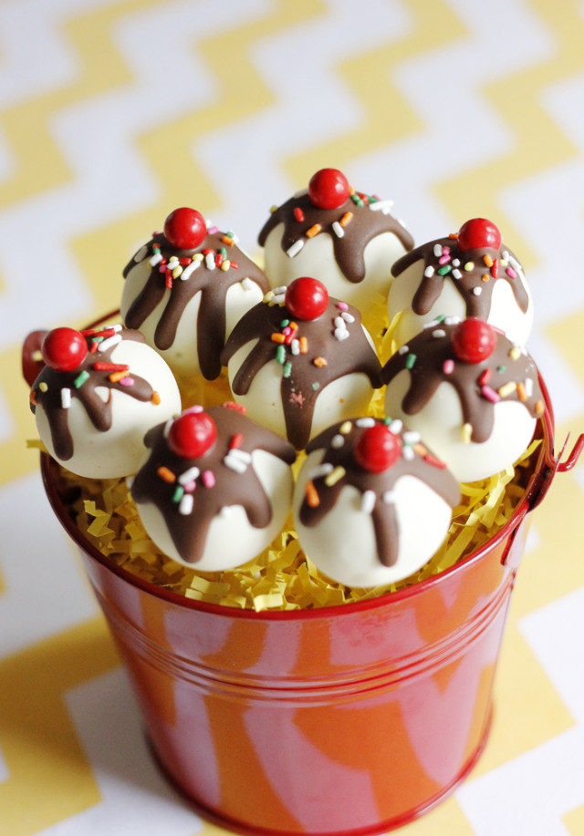 Curious George Birthday Party Cake Pops - Project Nursery