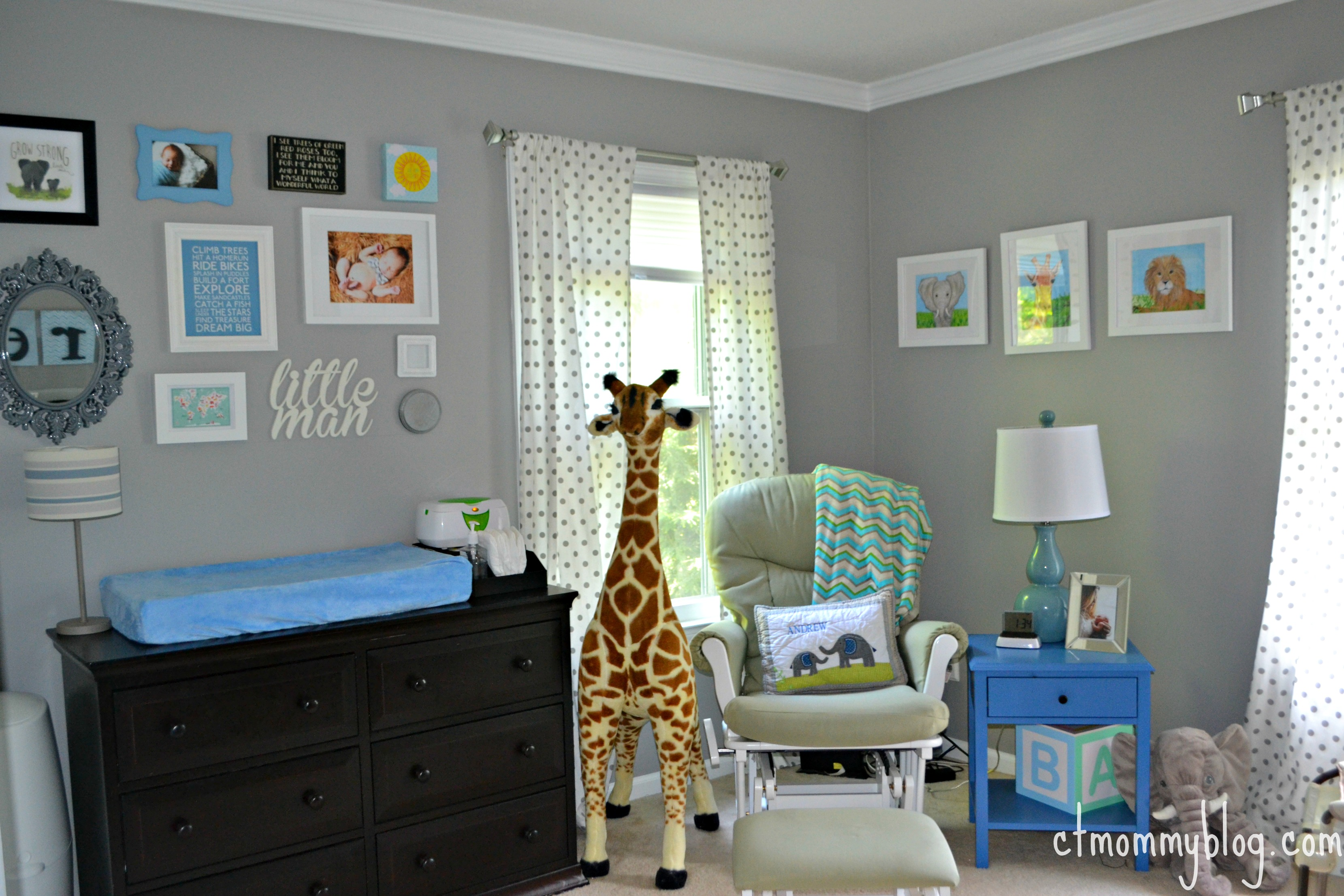 Andrew's Gray Safari Nursery