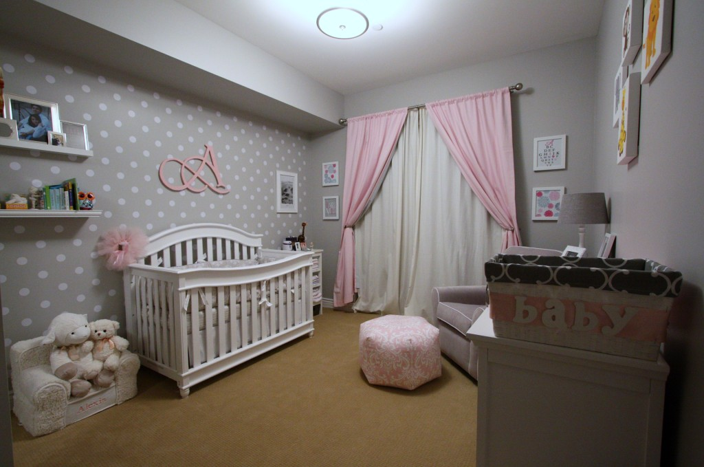 Alexis Pink And Grey Nursery Project Nursery