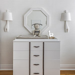 Jonathan Adler Mirror and Sconces
