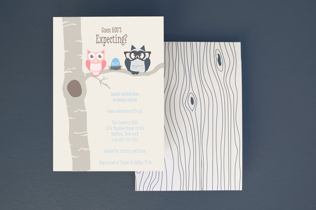 Baby Shower Invitation from Basic Invite