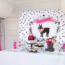 Puppy Birthday Party Dessert Table