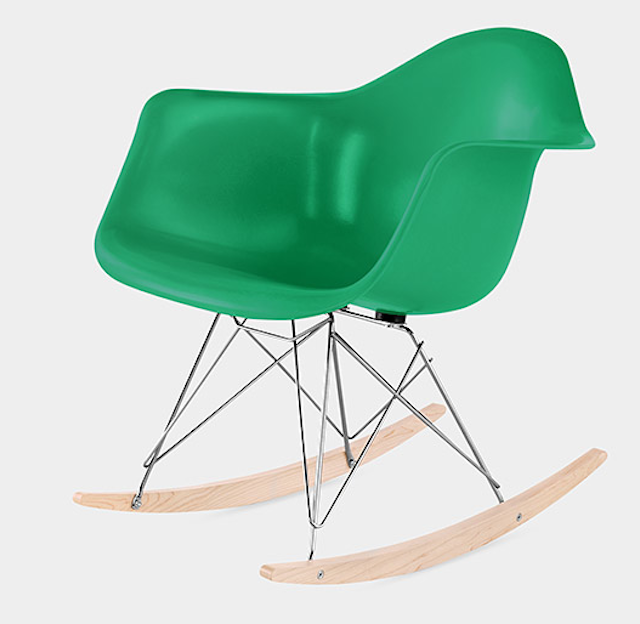 Eames Molded Fiberglass Armchair from MoMA