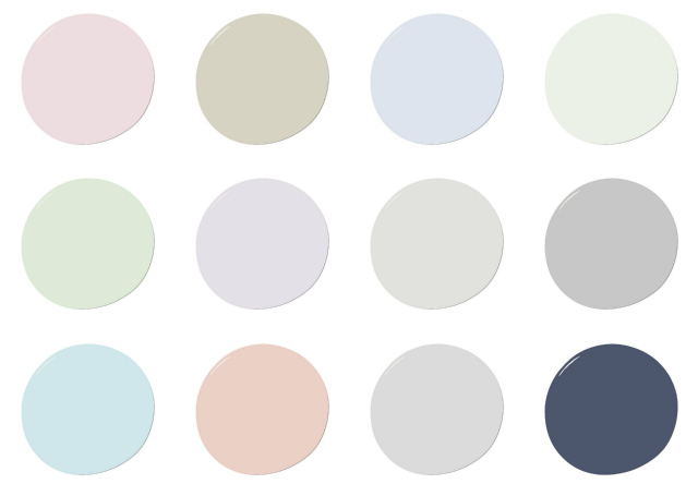 Project Nursery Exclusive Paint Colors