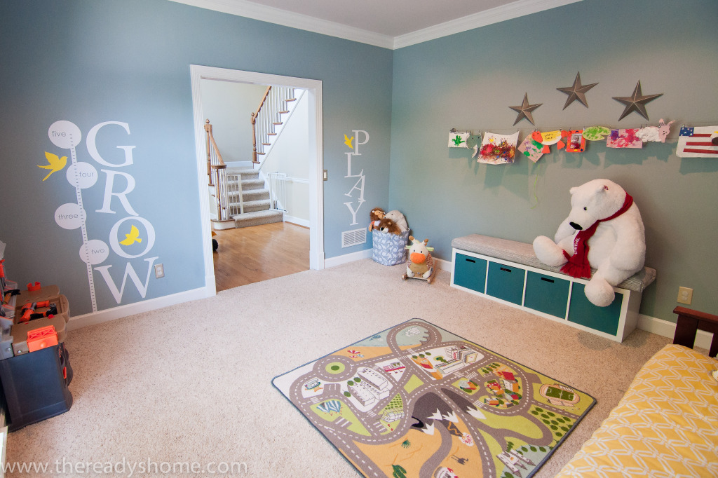Living Room Turned Playroom Project Nursery