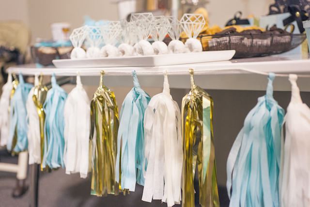 Breakfast at Tiffany's Party Tassel Garland - Project Nursery