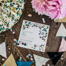 Modern Geometric Baby Shower