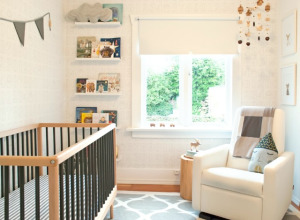 Modern Neutral Nursery - Project Nursery