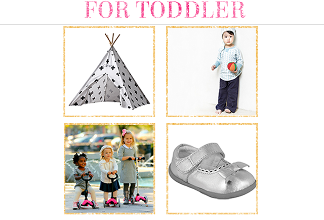 Holiday Gift Guide for Toddlers - Project Nursery