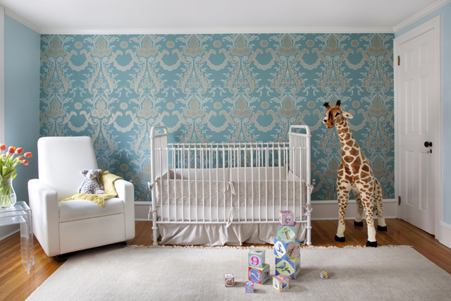 Shabby Chic Safari Nursery - Project Nursery