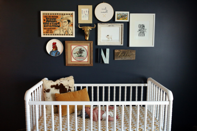 Farm Nursery Gallery Wall - Project Nursery