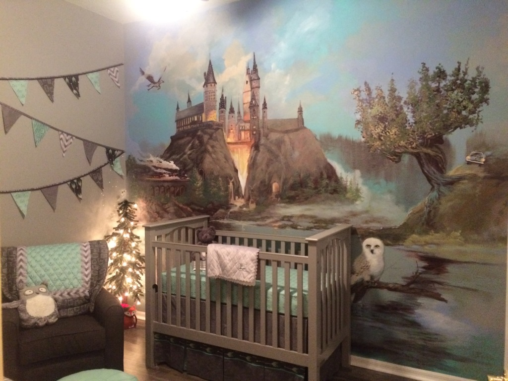 a harry potter inspired nursery project nursery. Black Bedroom Furniture Sets. Home Design Ideas