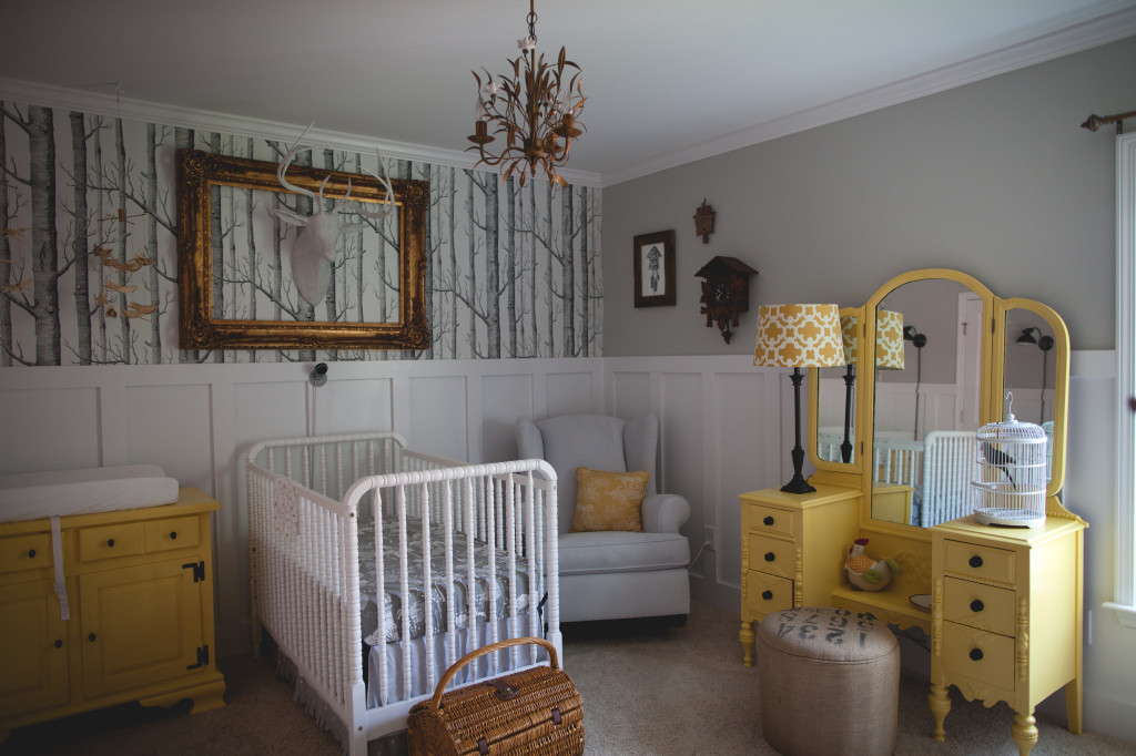 Woodland Nursery Ideas Ellaseal
