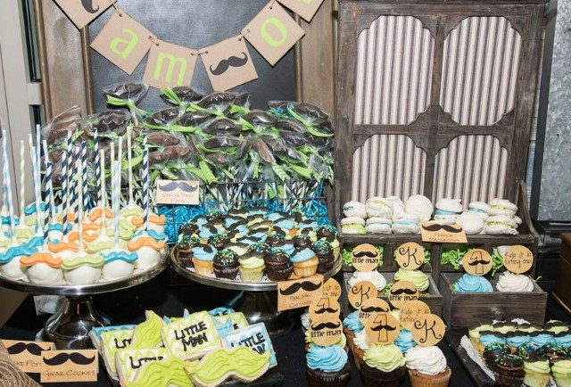 Mustache-Themed Birthday Party Treats - Project Nursery