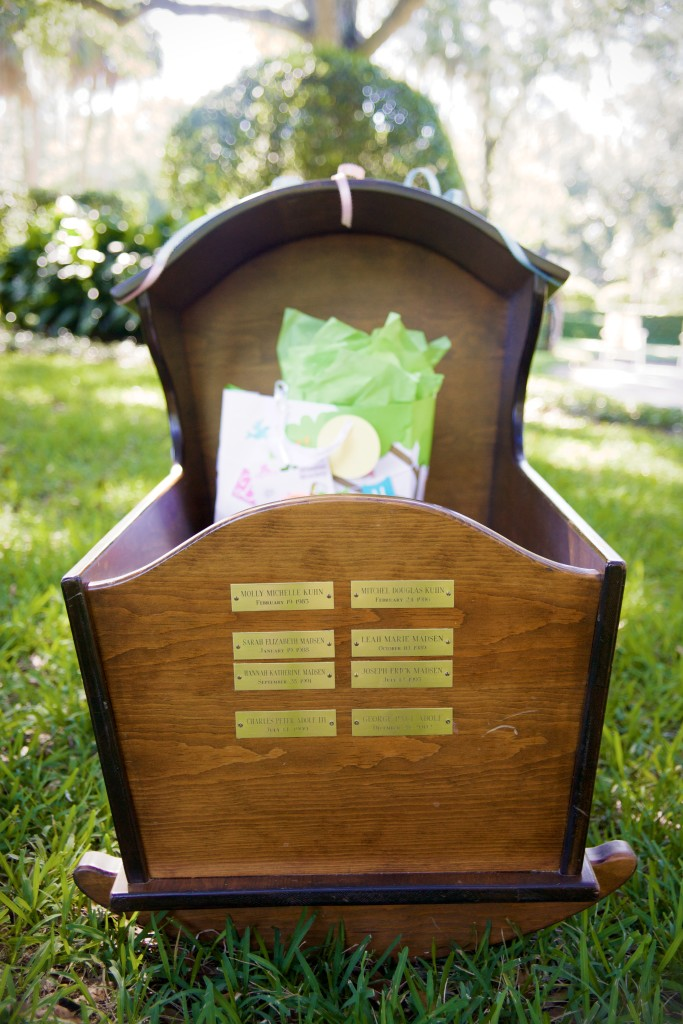 Antique Family Cradle Passed Down Through Generations