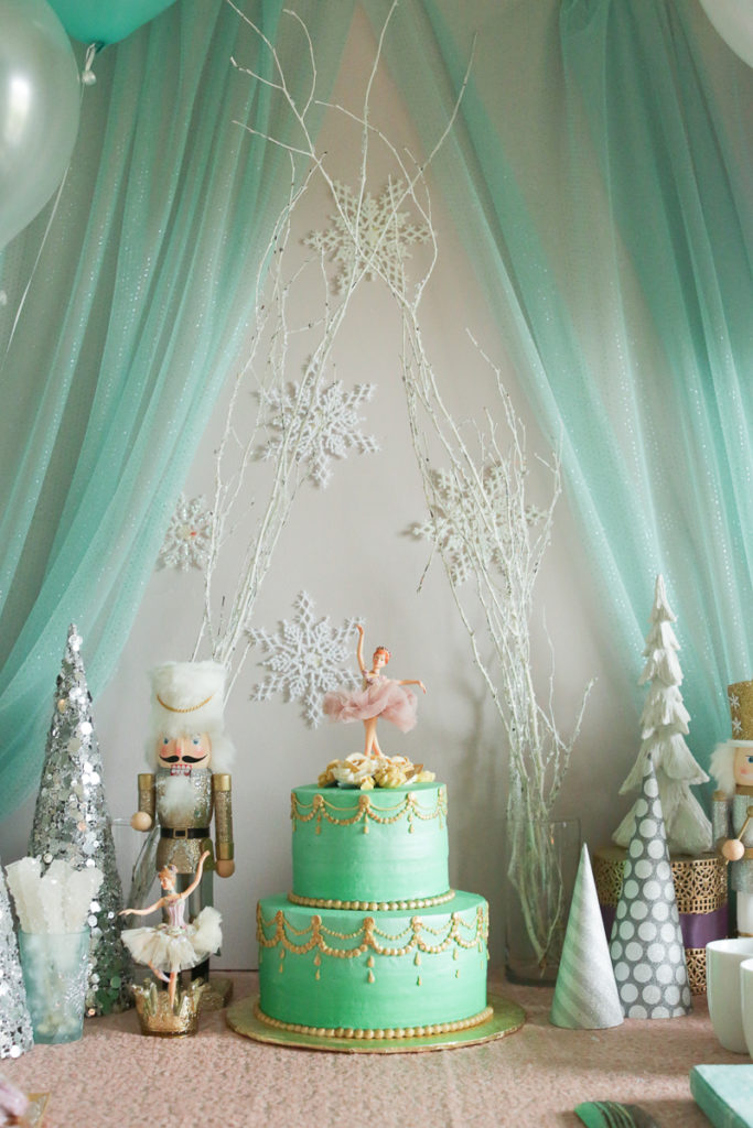 Winter Nutcracker 1st Birthday Party