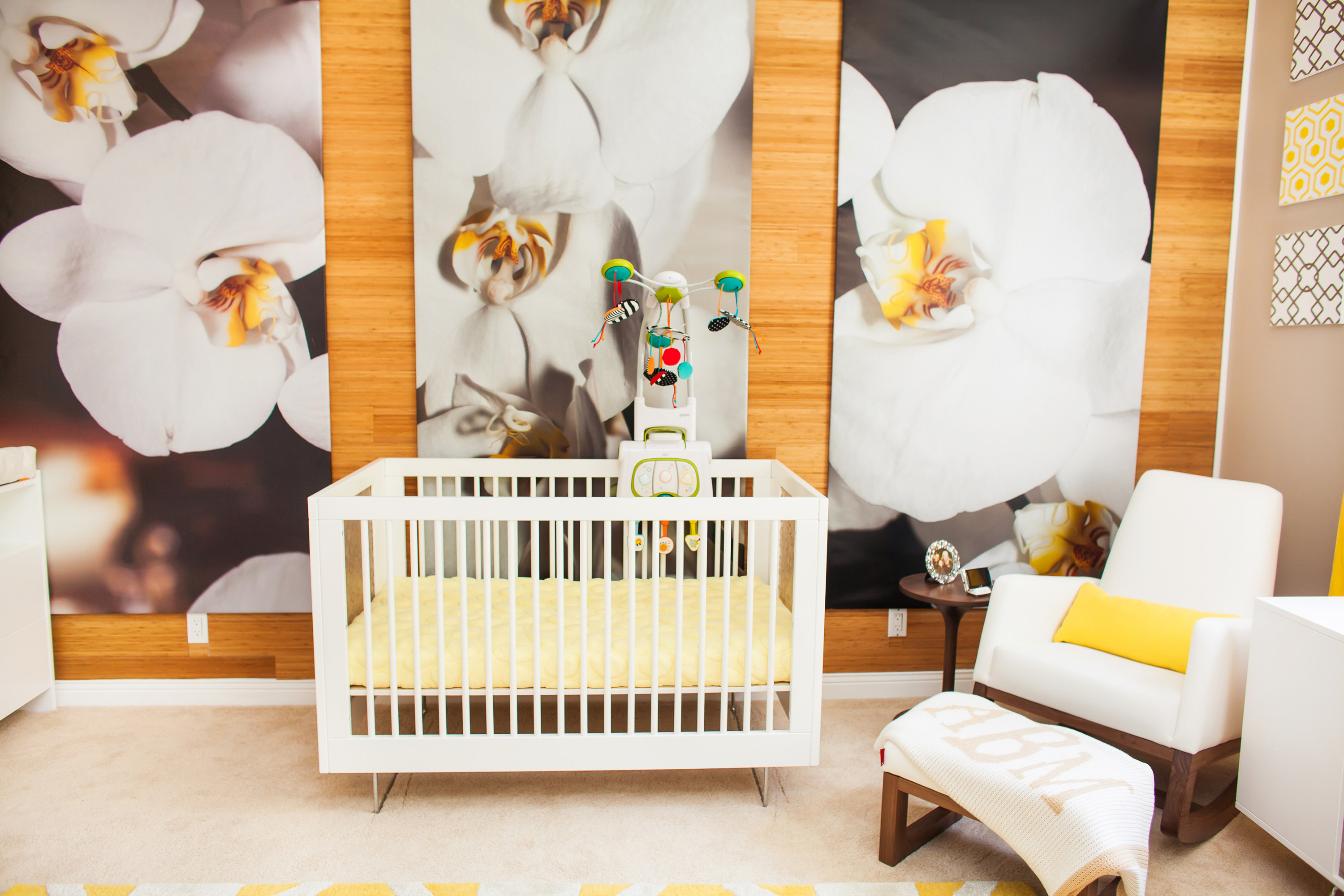 Kendra Wilkinson's Modern Nature-Inspired Nursery