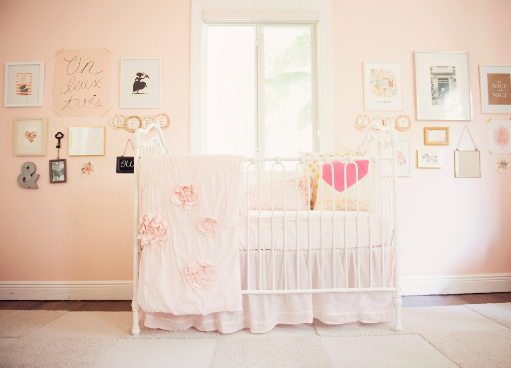 Blushing Pink Nurseries Project Nursery