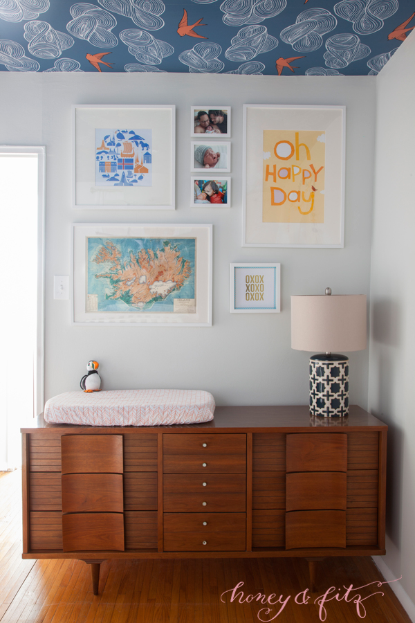 Honey-and-Fitz-Benedict's-Icelandic-Blue-and-Orange-Nursery-Changing-Table