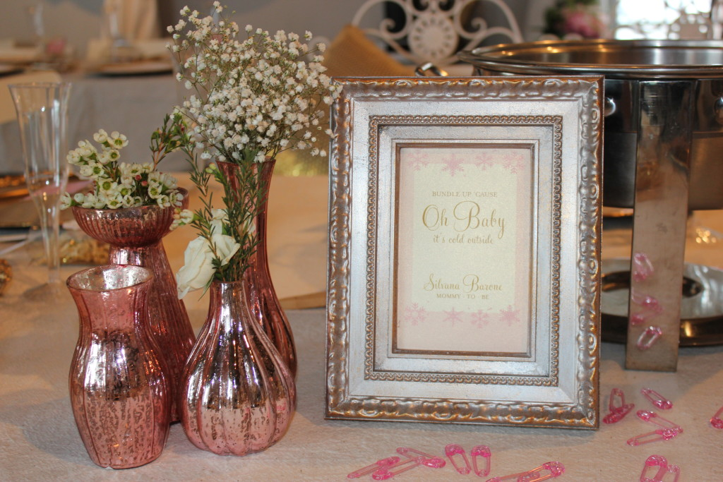 Glamorous Pink and Gold Baby Shower - Project Nursery