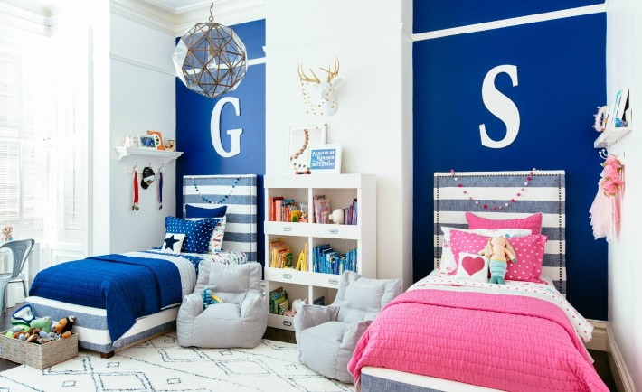 Bright & Fun Room for Siblings - Project Nursery