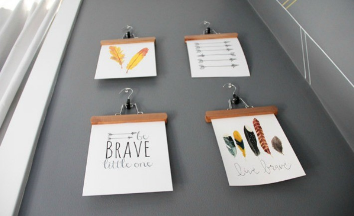 Be Brave Nursery Art - Project Nursery